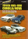 1998 toyota corolla repair manual